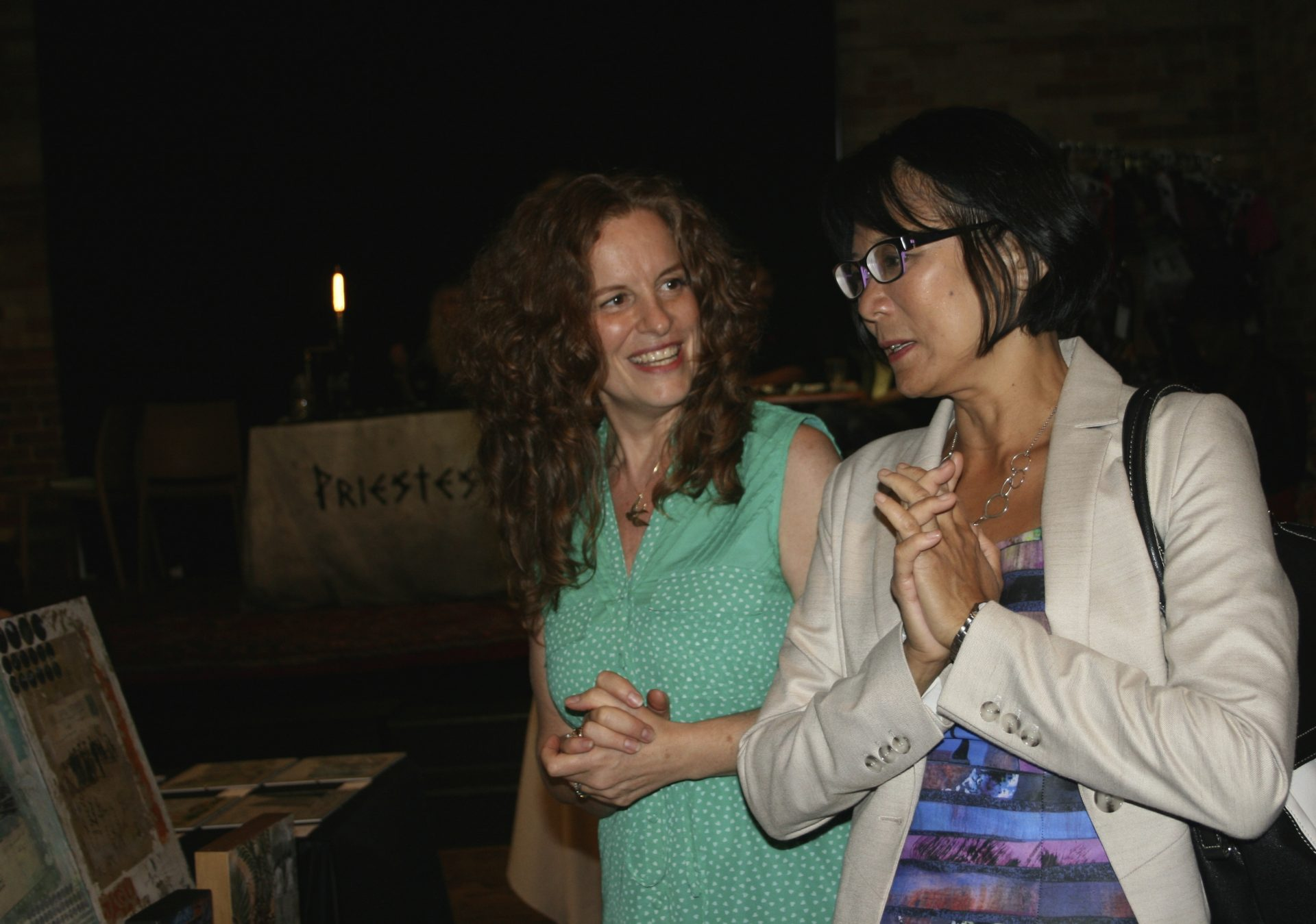 Josee Duranleau with Olivia Chow
