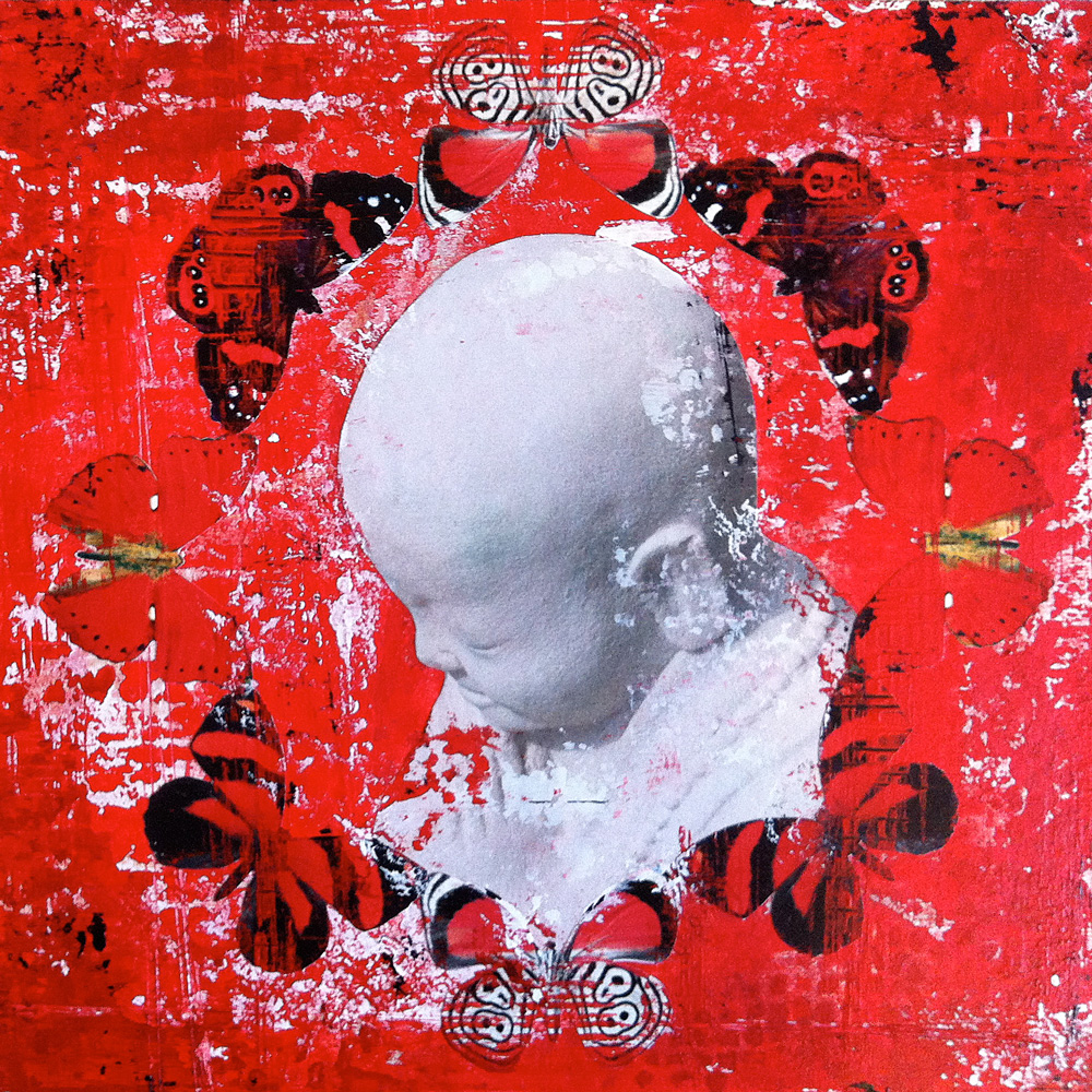 Buddha Butterflies - Red