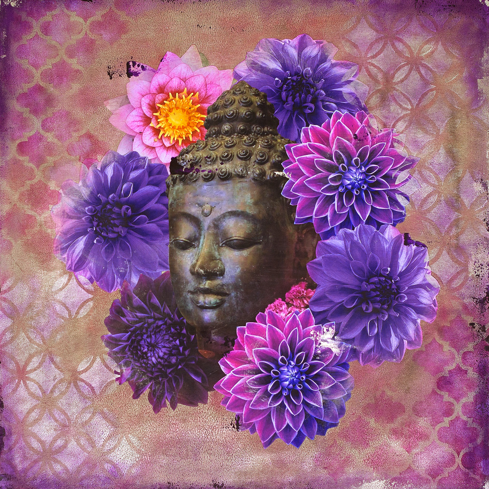 Buddha in Bloom No. 4