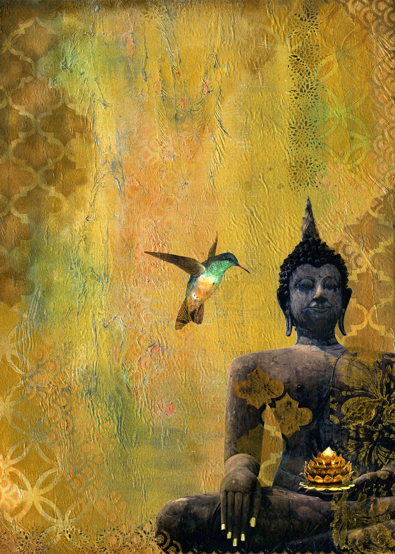 Josee Duranleau: Buddha and the Hummingbird