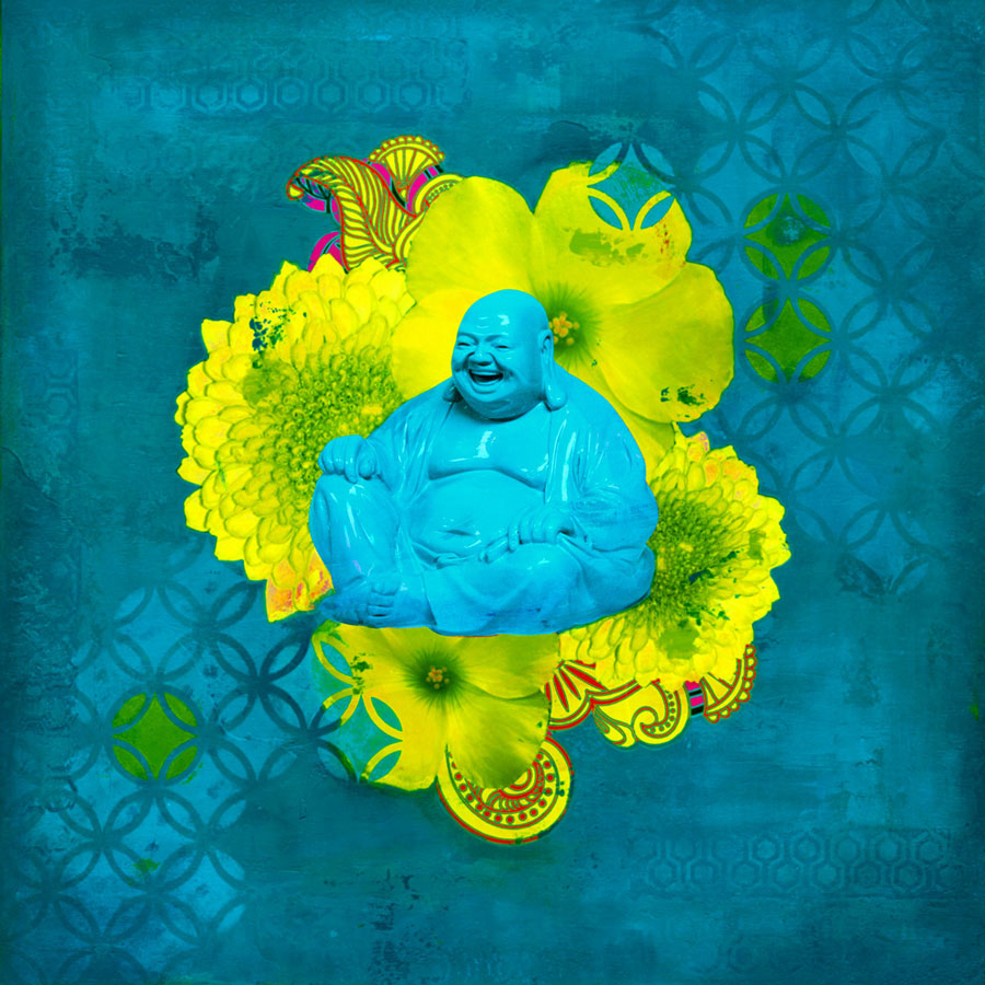 Buddha in Bloom #3 Print