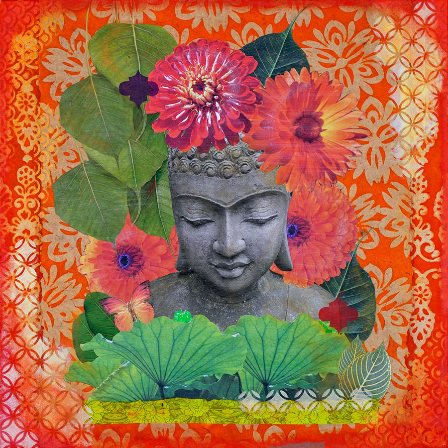 Buddha in Bloom #6 Prints
